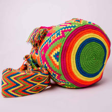 Load image into Gallery viewer, Wayuu Bag SolAzul