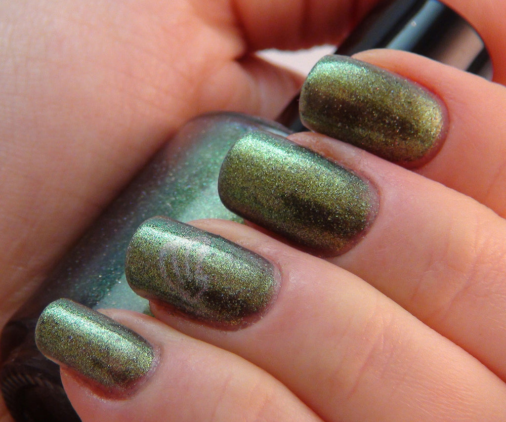 Pan - olive/green multichrome