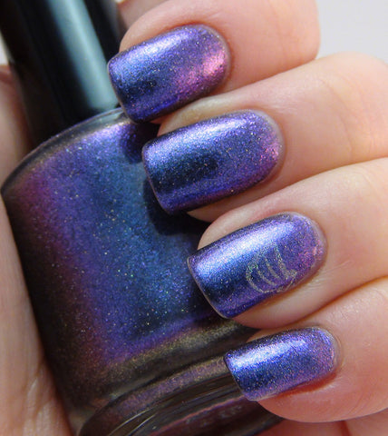 Hermes - blue/purple/pink multichrome