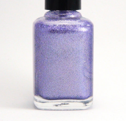 Wise Up, Janet! - lavender/lilac linear holographic-more