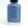 Great Scott! - blue w/ gold glass fleck shimmer - GLOWS blue