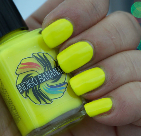The Uranium Evil - neon yellow creme-more