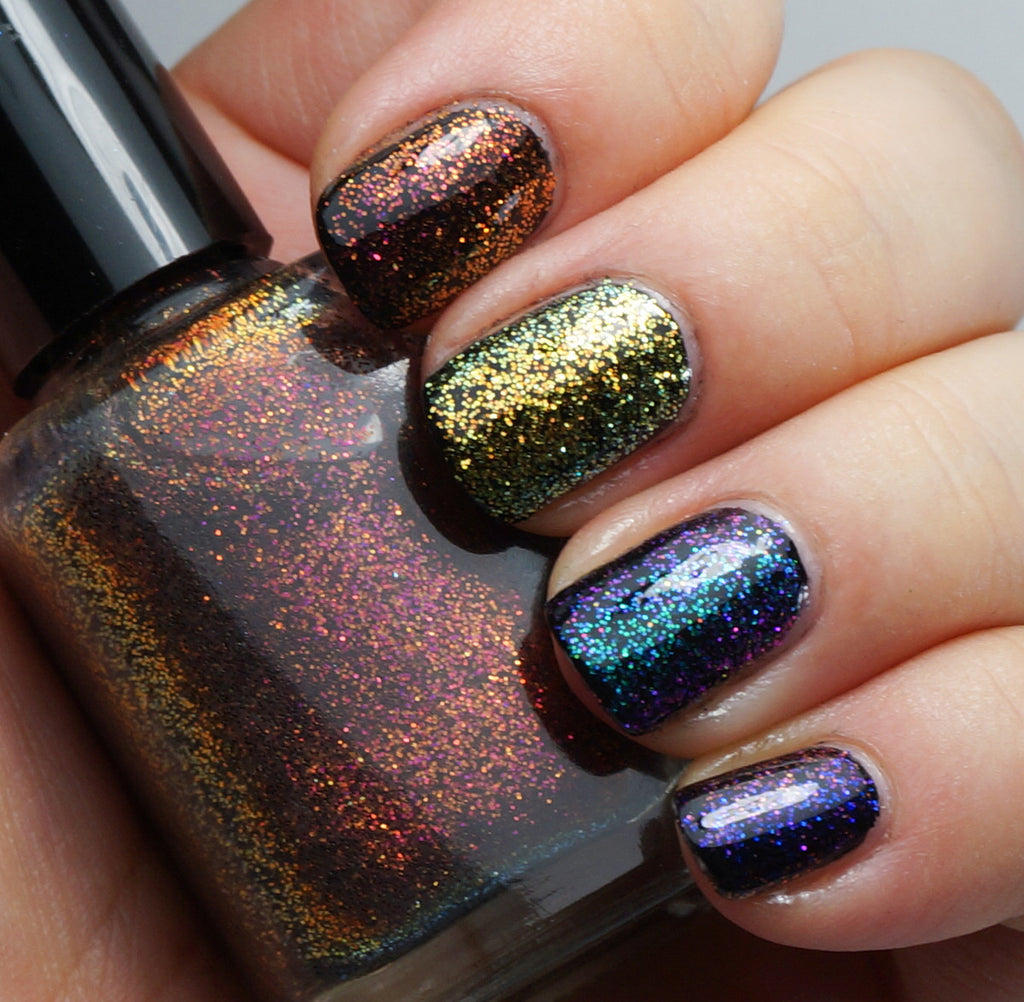 Pi!  - multichrome / colorshifting glitter top coats