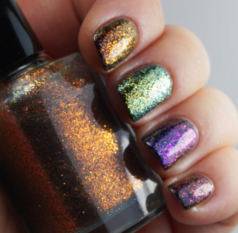 Pi!  - multichrome / colorshifting glitter top coats-more