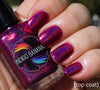 Polish of Unusual Quality (P.O.U.Q. / POUQ) - magenta linear holographic