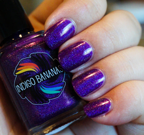 Rhythm & Booze - purple linear holographic-more