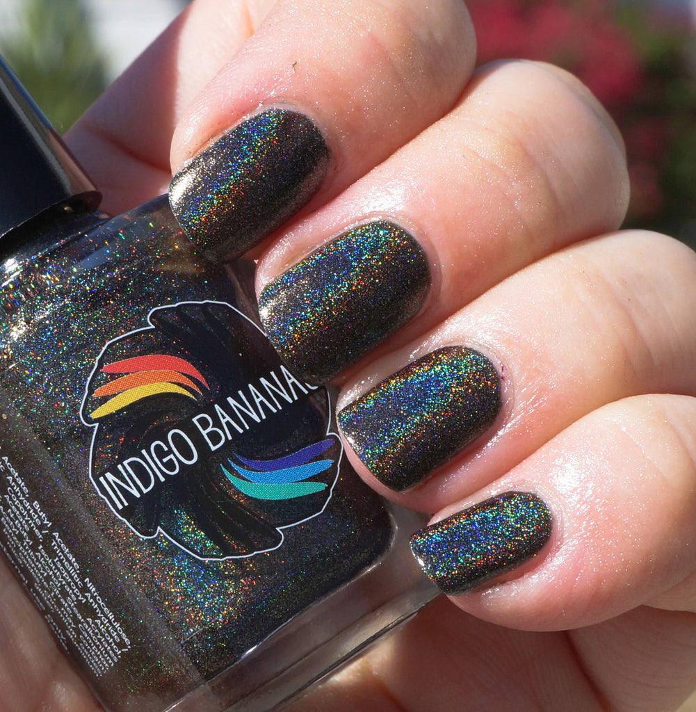 Olive Time & Space - olive / dark green linear holographic – Indigo ...