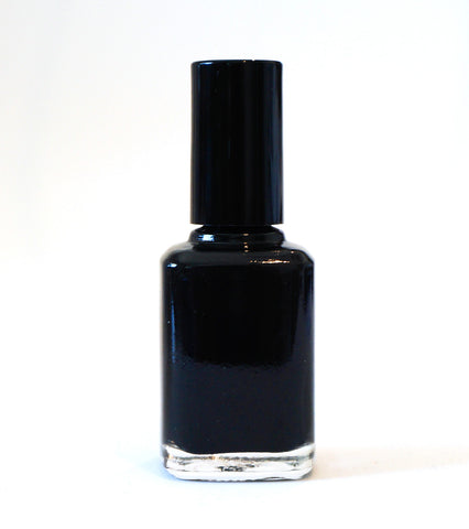 Black Hat - black creme polish