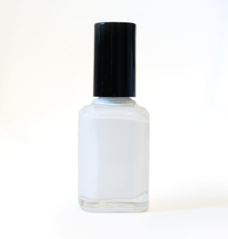 White Hat - white creme polish