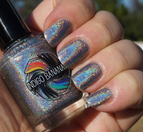 Holy Matrignomey - silver linear holographic - super holo-more