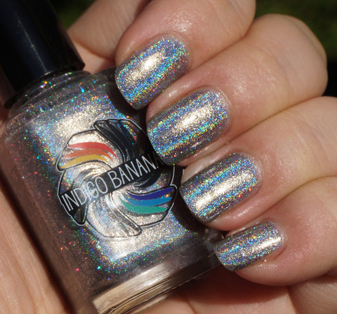 Holy Matrignomey - silver linear holographic - super holo