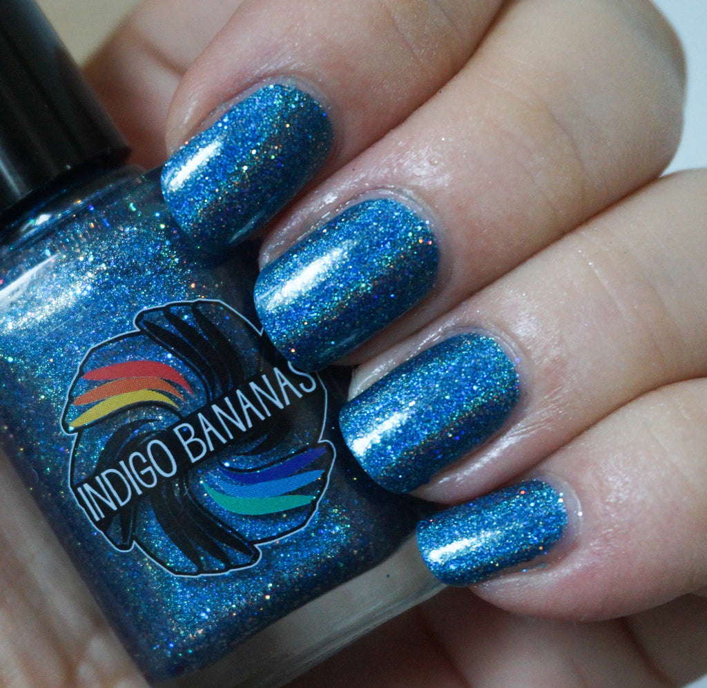 Little Big Dipper - blue linear holographic - super holo