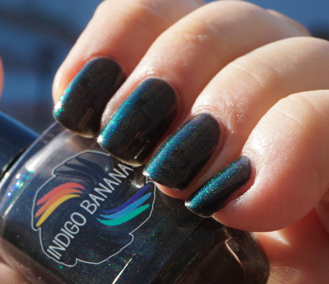 When Are We? - black with multicolor shimmer-more