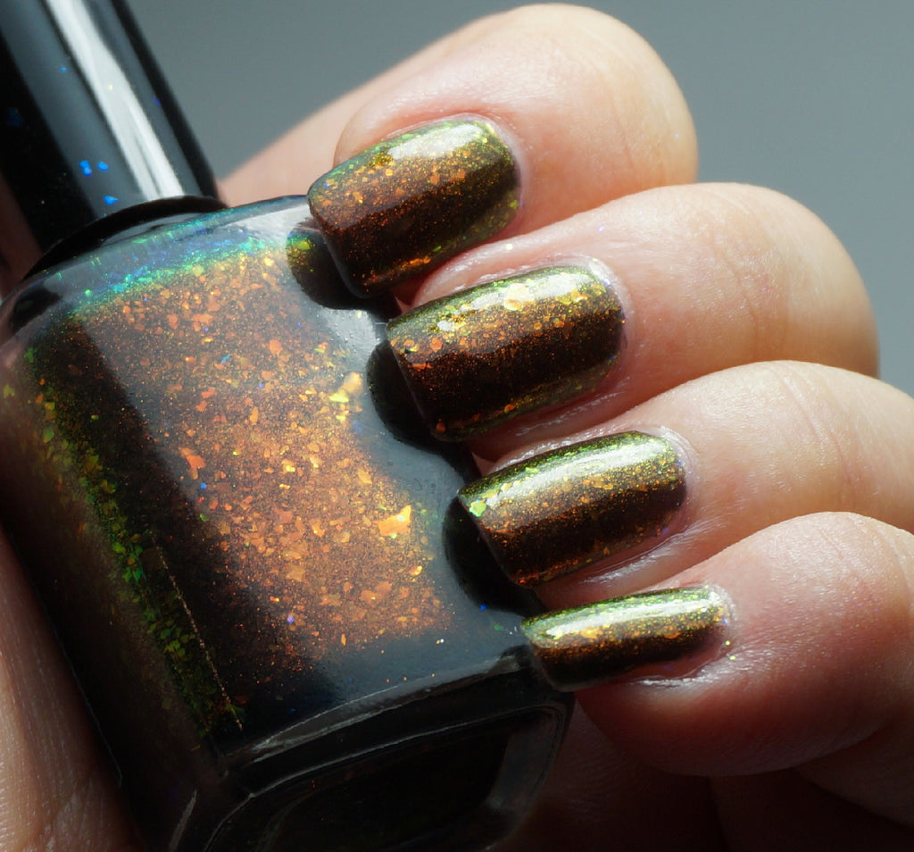 Gods & Monsters - black colorshifting flakie