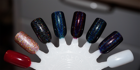 Glitz in the System - black glitter - very sparkly-more
