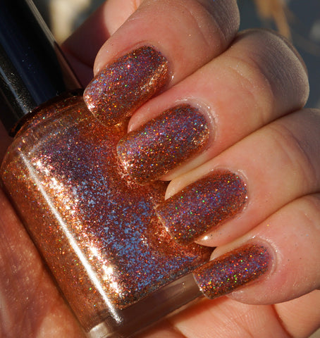 Spark of Life - copper & silver flakie multichrome-more