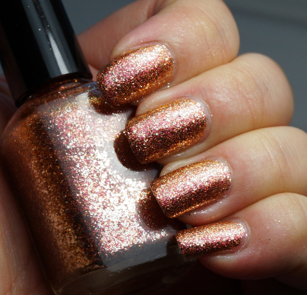 Spark of Life - copper & silver flakie multichrome