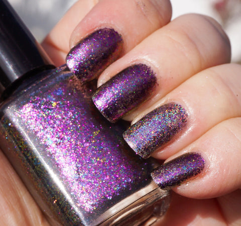Galactic Halo - pink-purple/copper chrome flakie-more