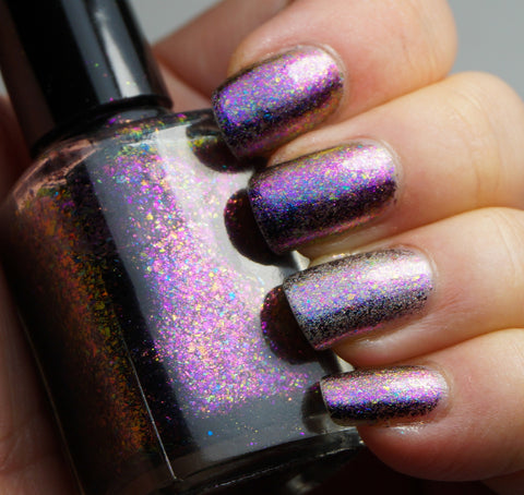 Galactic Halo - pink-purple/copper chrome flakie