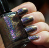 Galactic Halo (HOLO) - pink-purple/copper chrome flakie holographic