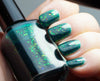 Enchanted Lake - emerald green with mix of colorshifting flakies