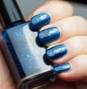 Sleeping Beauty - dark blue with mix of colorshifting flakies