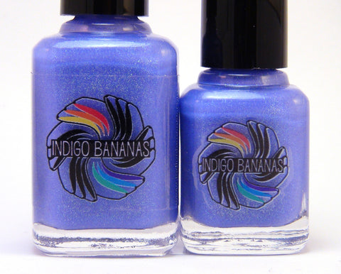 Electric Unicorns - lavender blue, green glass fleck duochrome shimmer-more