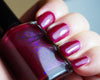 Sangreal - raspberry red shimmer & violet colorshifting flakies