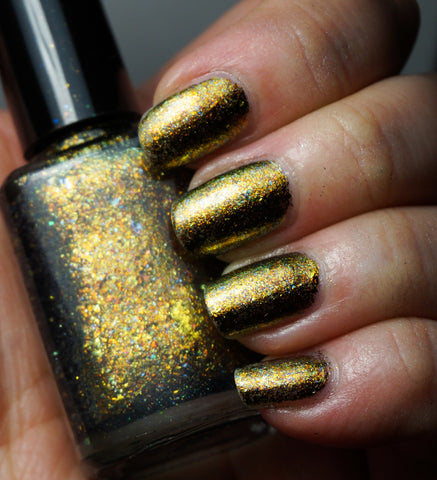 Quantum Gravity - gold chrome flakie-more
