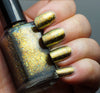 Quantum Gravity - gold chrome flakie