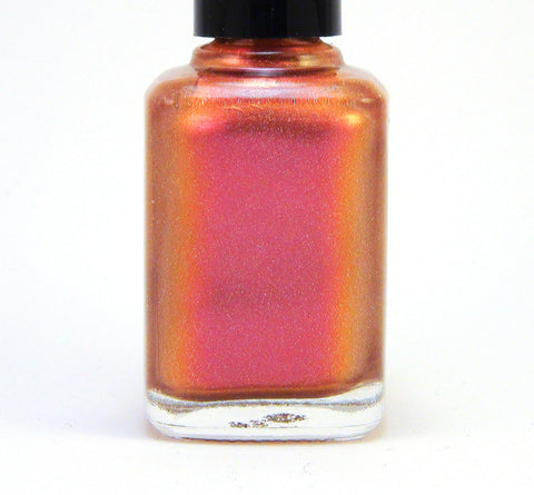 A Thousand Dreams - pink/coral/orange multichrome holographic-more