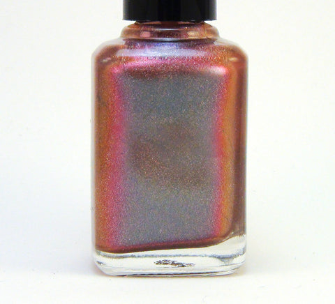 Endless Nights - blue/plum/coral multichrome holographic DISCONTINUED-more