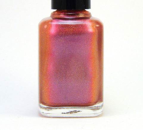 Dream a Little Dream - pink/violet/reddish orange multichrome holographic-more