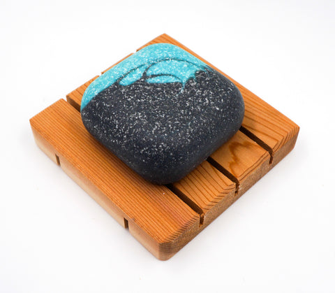 Spa Soap - Salt bar - Sea Breeze - Facial & Hand soap w/ activated charcoal