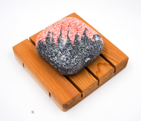 Spa Soap - Salt bar - Volcano - Facial & Hand soap w/ activated charcoal