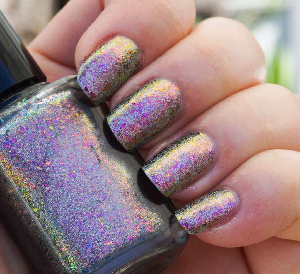 Dawn Chorus (HOLO) - red/pink/gold/green mega chrome flakie