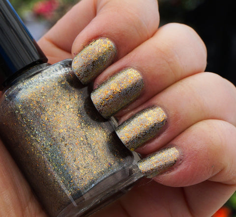 Hay Ride (HOLO) - gold mega chrome flakie
