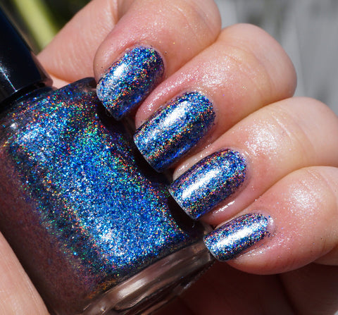 Hyperborea (HOLO) - blue/purple mega chrome flakie-more