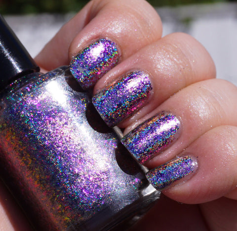 Cloudwalker (HOLO) - blue/magenta/red/gold mega chrome flakie-more