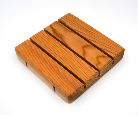 Soap Dish - Cedar - Square