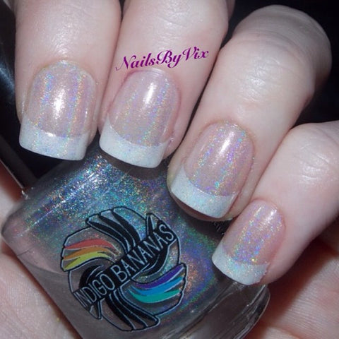 Linear Holographic Top Coat - four kinds-more