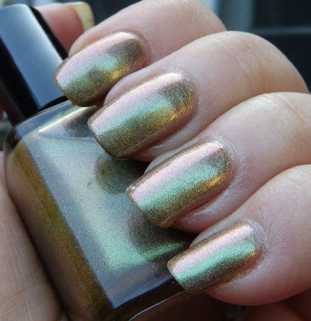 Hallucinate - bronze/green/pinkish/copper multichrome holographic