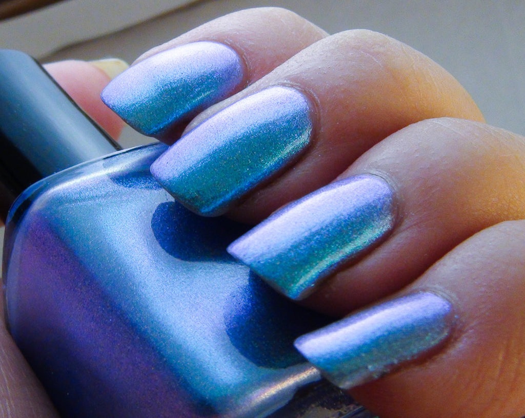 Maui Wowee - aqua/sky blue/blue/purple multichrome holographic