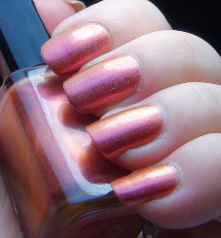 A Thousand Dreams - pink/coral/orange multichrome holographic