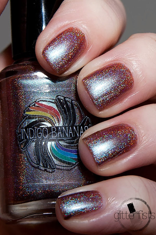 Endless Nights - blue/plum/coral multichrome holographic DISCONTINUED