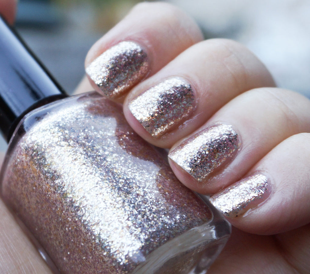 A Star to Sail By 2.0 - rose gold smooth metal flake - SUPER shiny!