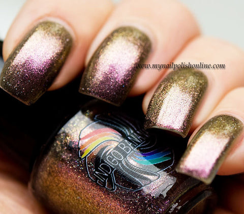 Eshu - pink/gold multichrome