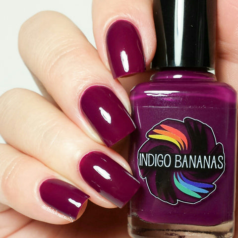 Dark Side of Maroon - reddish purple creme - Creme a la Mode Box #1