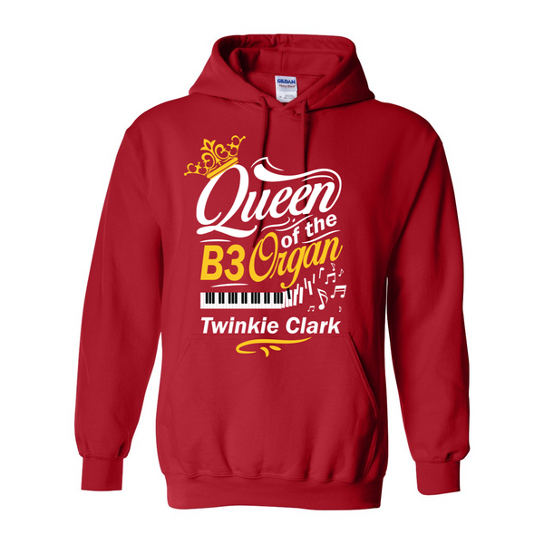 Queen of the B3 Organ Hooded Sweatshirt
