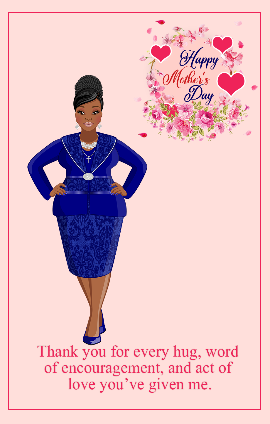 Mother's Day - Blue